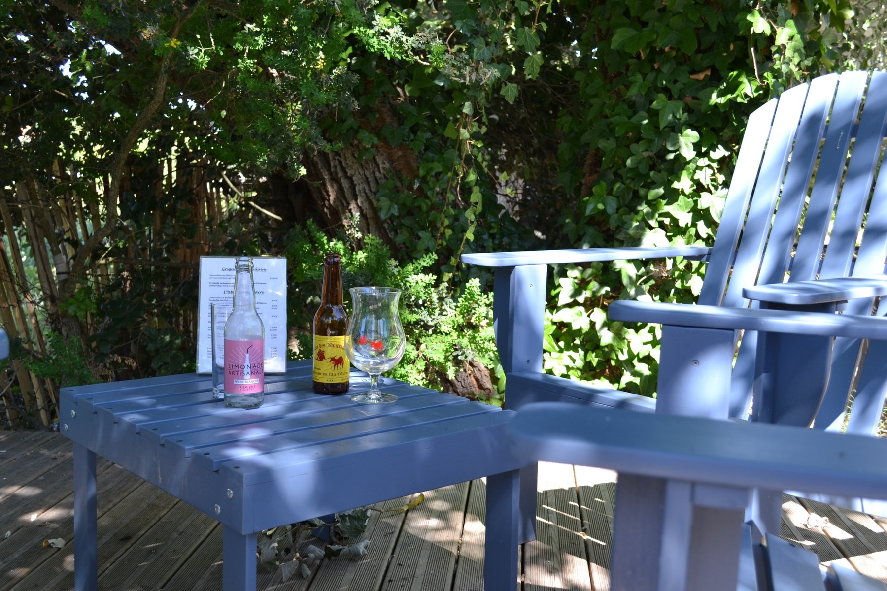 a drink after beach Atlantic hotel 2 stars charente maritime oleron island